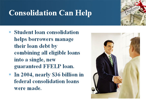 Consolidation Can Help