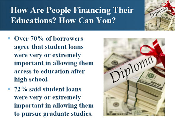 How Are People Financing Their Educations? How Can You?